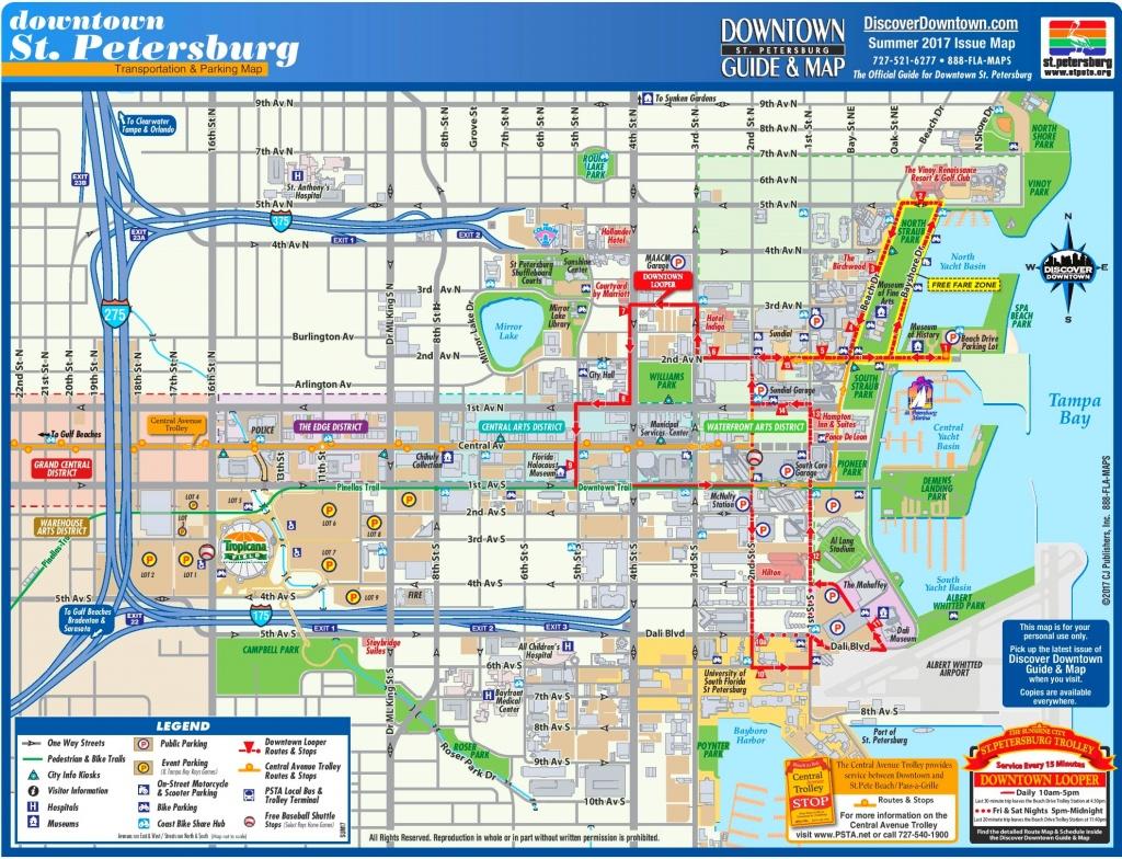 St. Petersburg Maps   Florida, U.s.   Maps Of St. Petersburg - St Petersburg Florida Map