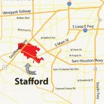 Stafford Tx Map   Great Maps Of Houston   Stafford Tx, Houston   Stafford Texas Map