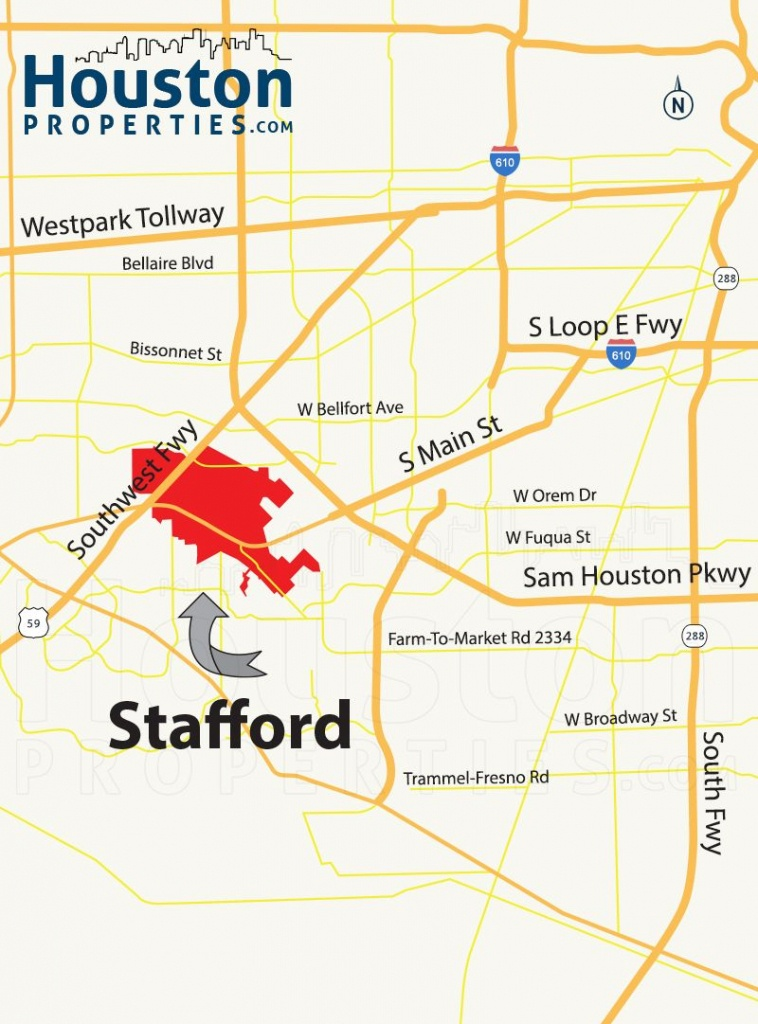 Stafford Tx Map | Great Maps Of Houston | Stafford Tx, Houston - Stafford Texas Map