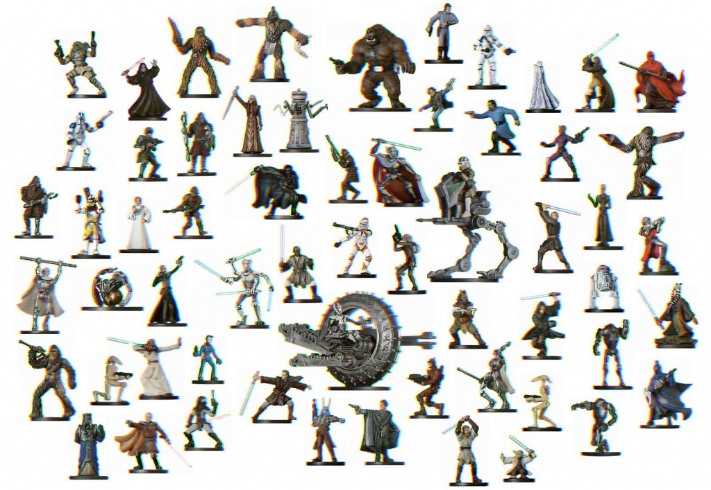 Star Wars D&d Minature Images - Star Wars Miniatures Printable Maps