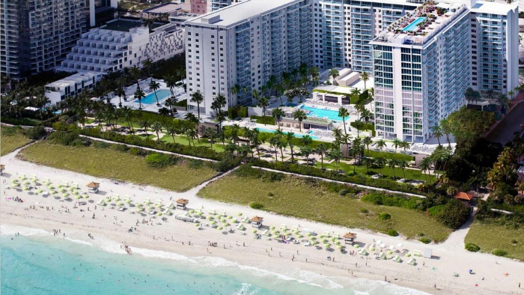 Starwood Capital Group And Lefrak Sell 1 Hotel South Beach To Host - Starwood Hotels Florida Map