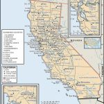 State And County Maps Of California - Interactive Map Of California