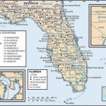 State And County Maps Of Florida   Road Map Of North Florida