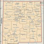 State And County Maps Of New Mexico   New Mexico State Map Printable