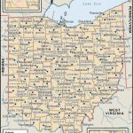 State And County Maps Of Ohio   Printable Map Of Ohio