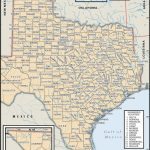 State And County Maps Of Texas   Texas County Map With Roads