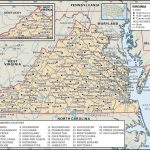 State And County Maps Of Virginia   Printable Map Of Virginia