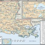 State And Parish Maps Of Louisiana   Printable Map Of Lafayette La