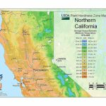 State Maps Of Usda Plant Hardiness Zones   Growing Zone Map California