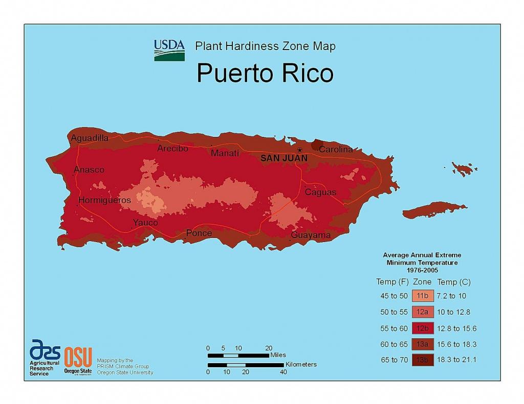 State Maps Of Usda Plant Hardiness Zones - Plant Zone Map Florida
