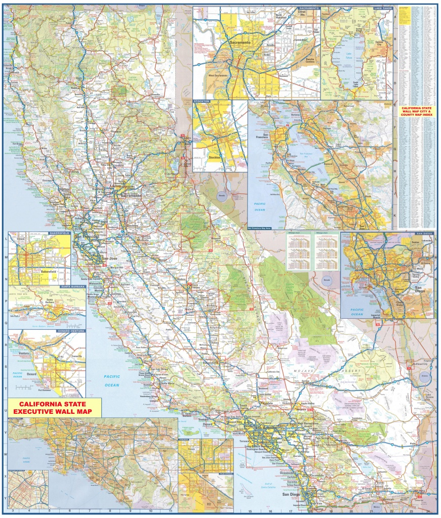 State Wall Maps Archives - Swiftmaps - Large Wall Map Of California