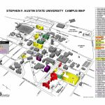 Stephen F Austin State University Campus Map   Nacogdoches Tx   Texas State Dorm Map