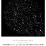 Stephen Hawking Commemorative Star Map   Greaterskies   Free Printable Star Maps
