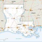 Stock Vector Map Of Louisiana | One Stop Map - Printable Map Of Louisiana