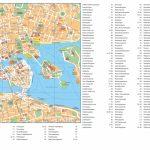 Stockholm City Center Map   Printable Map Of Stockholm