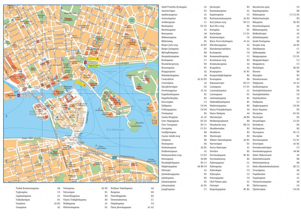 Stockholm Maps | Sweden | Maps Of Stockholm - Stockholm Tourist Map Printable