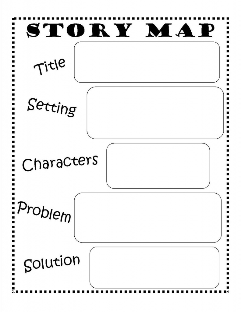 Story Map - Free Printable #reading #writing #kids | Ela | Story Map - Flow Map Printable