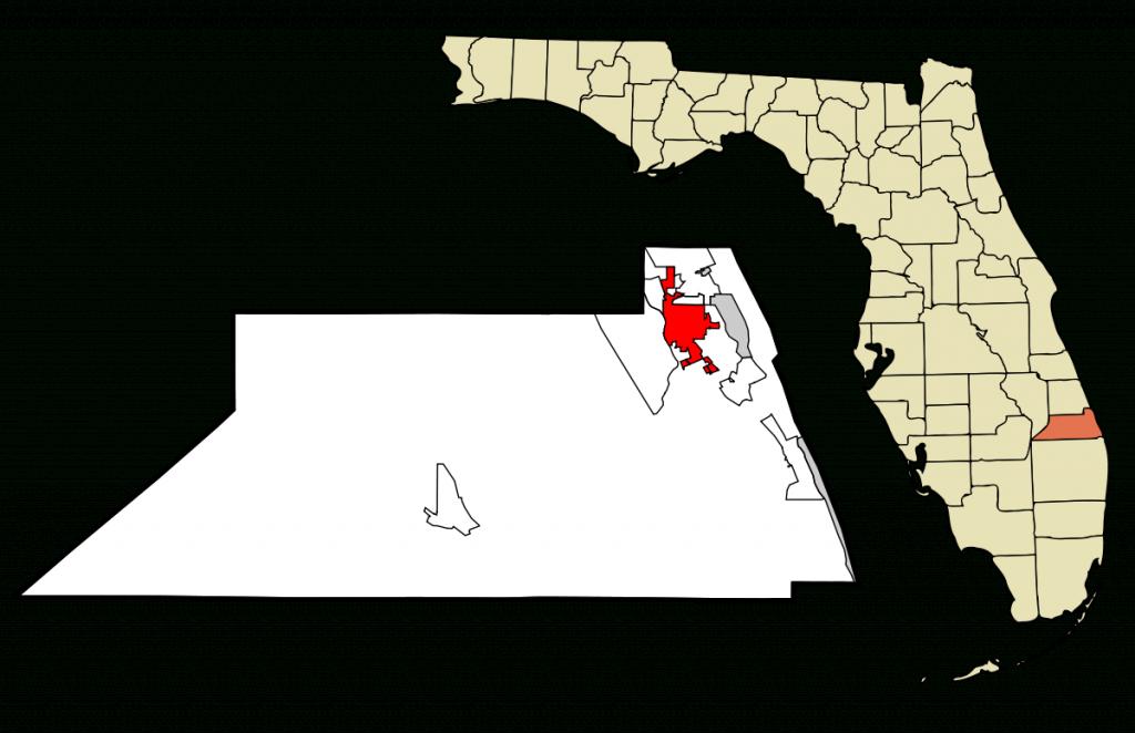 Stuart, Florida - Wikipedia - Map Showing Stuart Florida