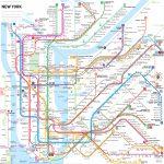 Subway Style Map Of Nyc   House   Nyc Subway Map, Nyc Subway, New - Printable New York Subway Map