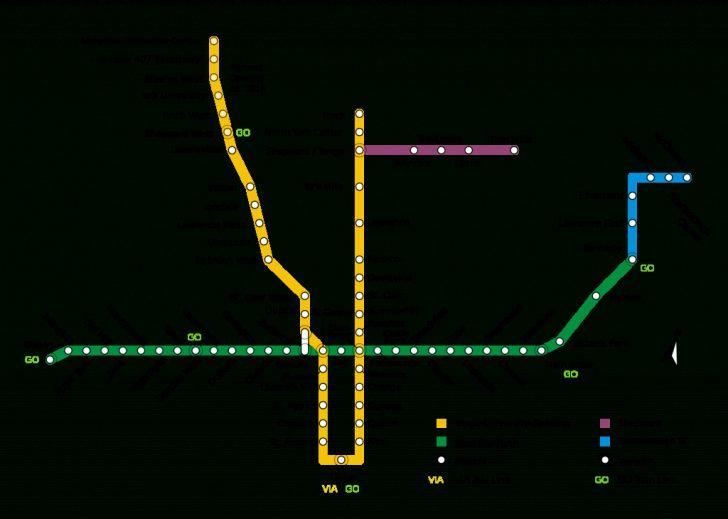 Toronto Subway Map Printable
