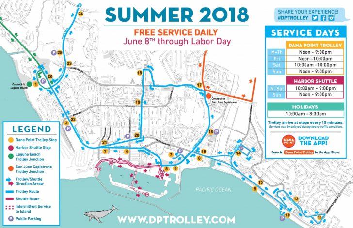 Dana Point California Map