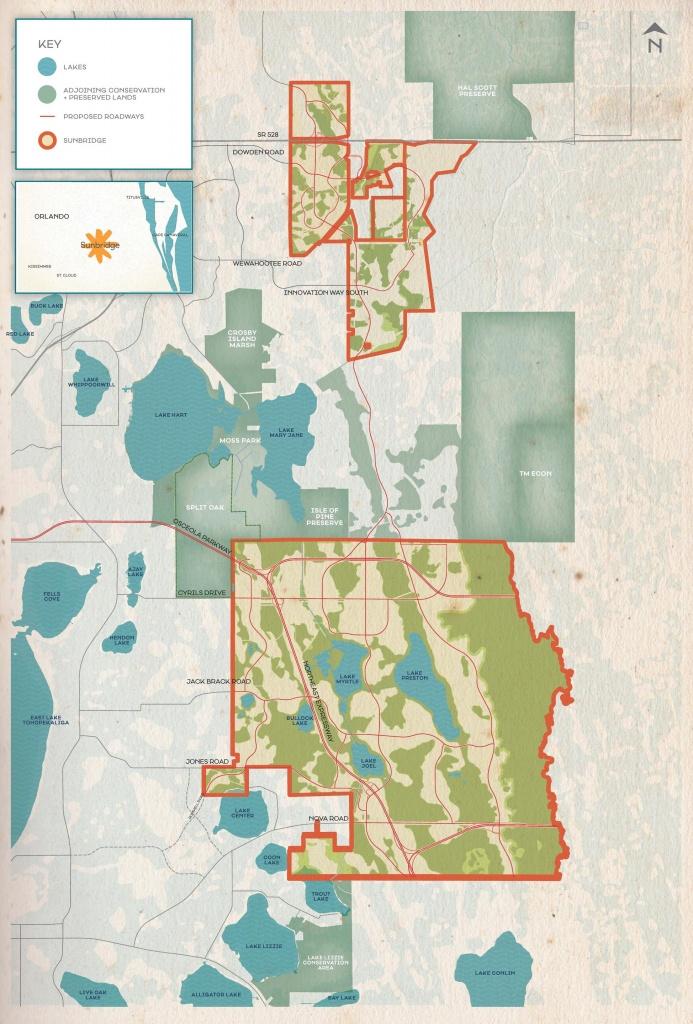 Sunbridge-Map - Lake Nona Social - Lake Nona Florida Map