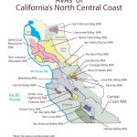 Swe Map 2019: California—Northern Central Coast – Wine, Wit, And Wisdom   Central California Wineries Map