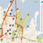 Sydney Printable Tourist Map In 2019 | Free Tourist Maps ✈ | Sydney   Melbourne Tourist Map Printable