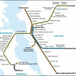 System Map | Bart.gov   Printable Bart Map