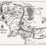 T16) - Middle Earth Map In 2019 | Tattoos | Middle Earth Map, Middle - Printable Lord Of The Rings Map