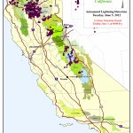 Tahoe National Forest   Maps & Publications   Lightning Map California