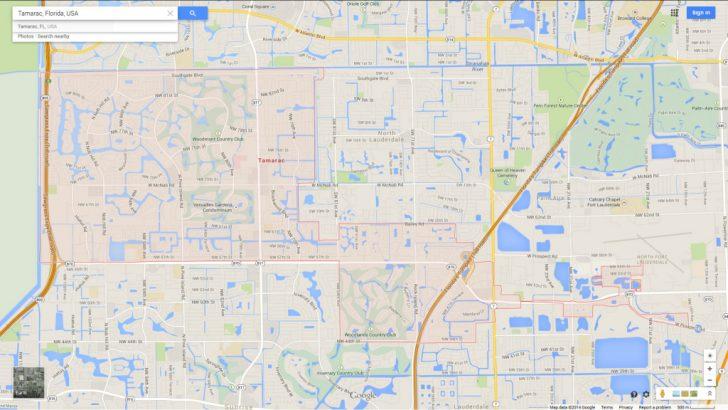 Tamarac Florida Map