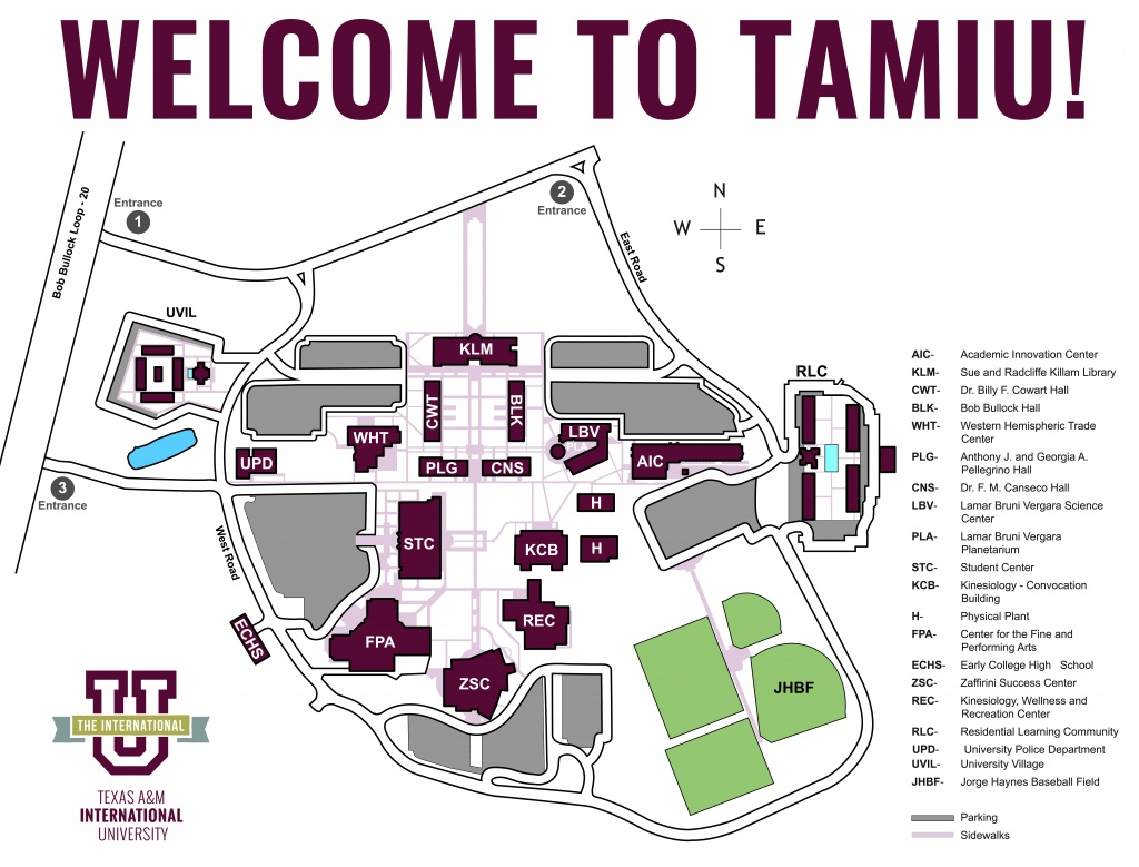 Tamiu Map - Texas State Dorm Map