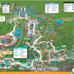 Tampa Busch Gardens Park Map - Busch Gardens Florida Map