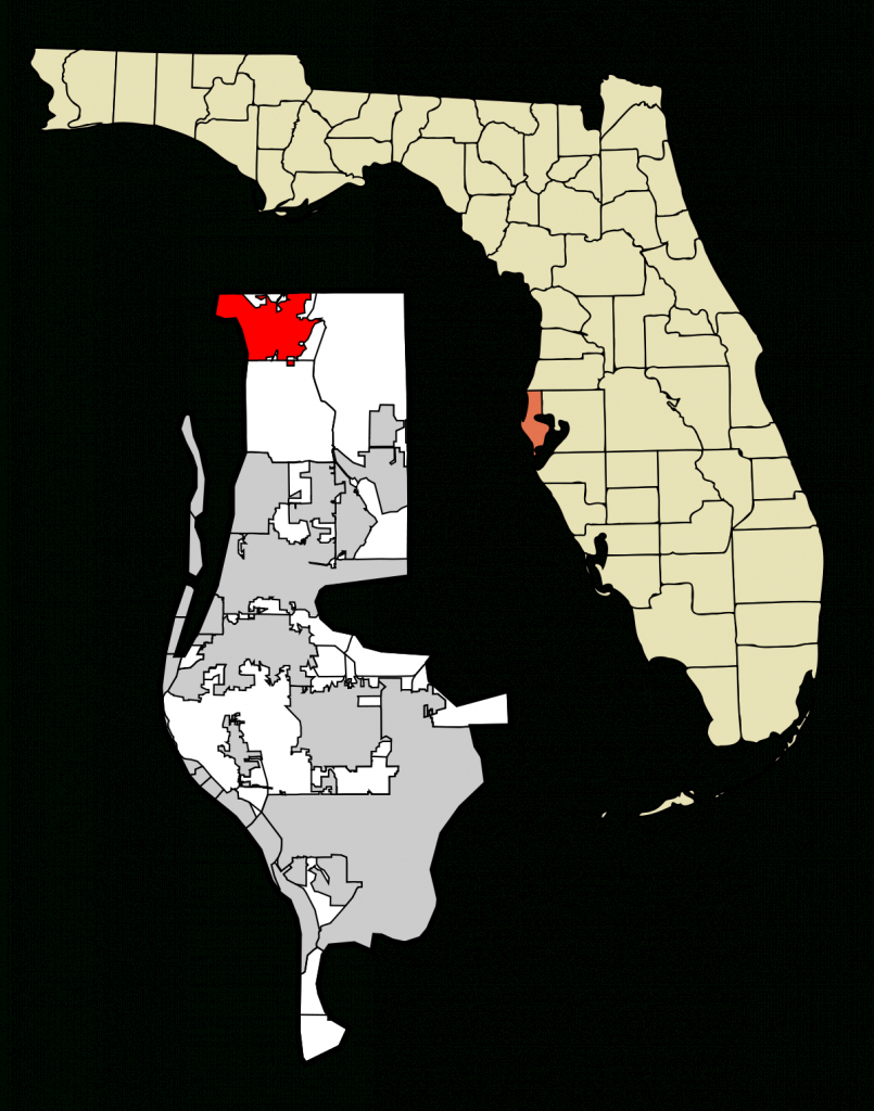 Tarpon Springs, Florida - Wikipedia - White Springs Florida Map