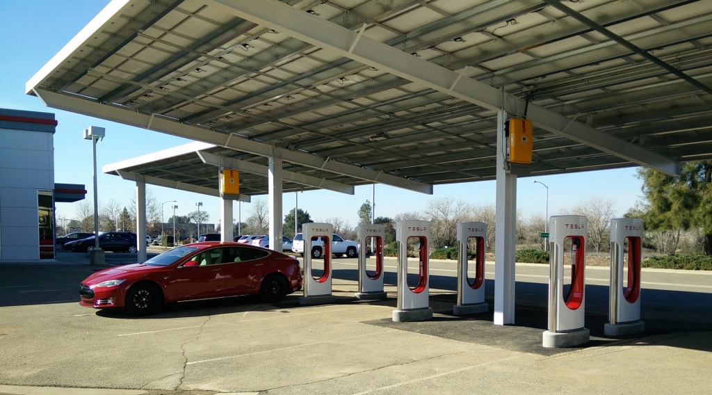 Tesla Expands Supercharger Network As Model 3 Rolls Out - Tesla Charging Stations Map California