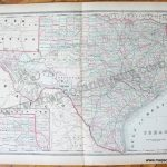 Texas   Antique Maps And Charts – Original, Vintage, Rare Historical   Antique Texas Map Reproductions