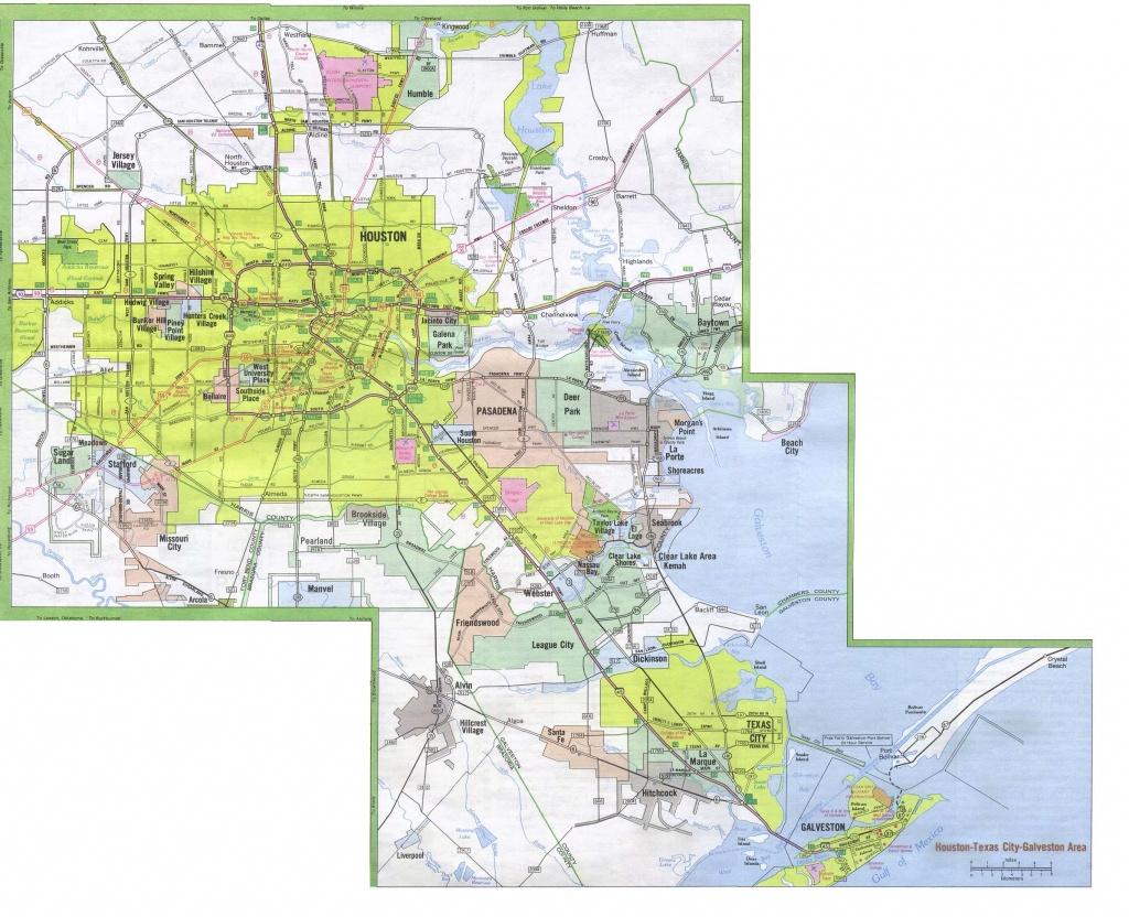 Texas City Maps - Perry-Castañeda Map Collection - Ut Library Online - Google Maps Galveston Texas