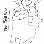 Texas Civil War Printables. Printable. Free Printable Worksheets   Printable Civil War Map