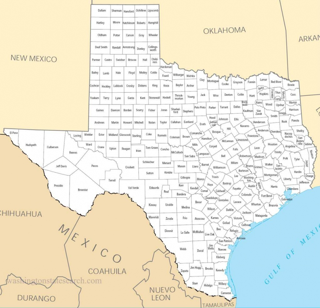 Texas Counties Map | View Our Texas State Map A Large Detailed Texas - Printable Map Of Texas With Cities