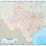 Texas Counties Wall Map   Maps   Texas Wma Map