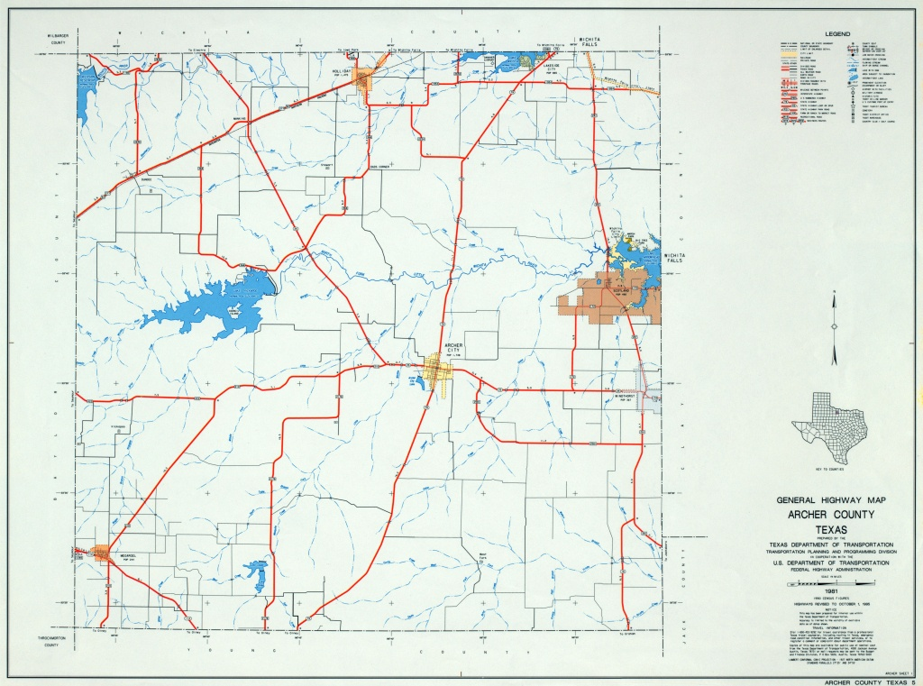 Texas County Highway Maps Browse - Perry-Castañeda Map Collection - Crockett Texas Map