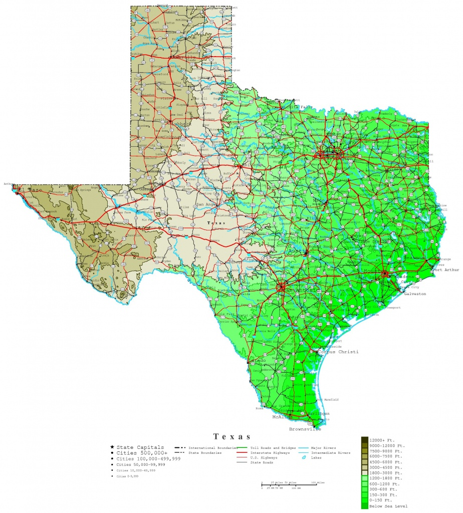 Texas County Map With Highways | Business Ideas 2013 - Texas Road Map 2017