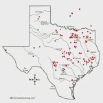 Texas Cryptid Hunter: Black Panther Sighting Distribution Map   Mountain Lions In Texas Map