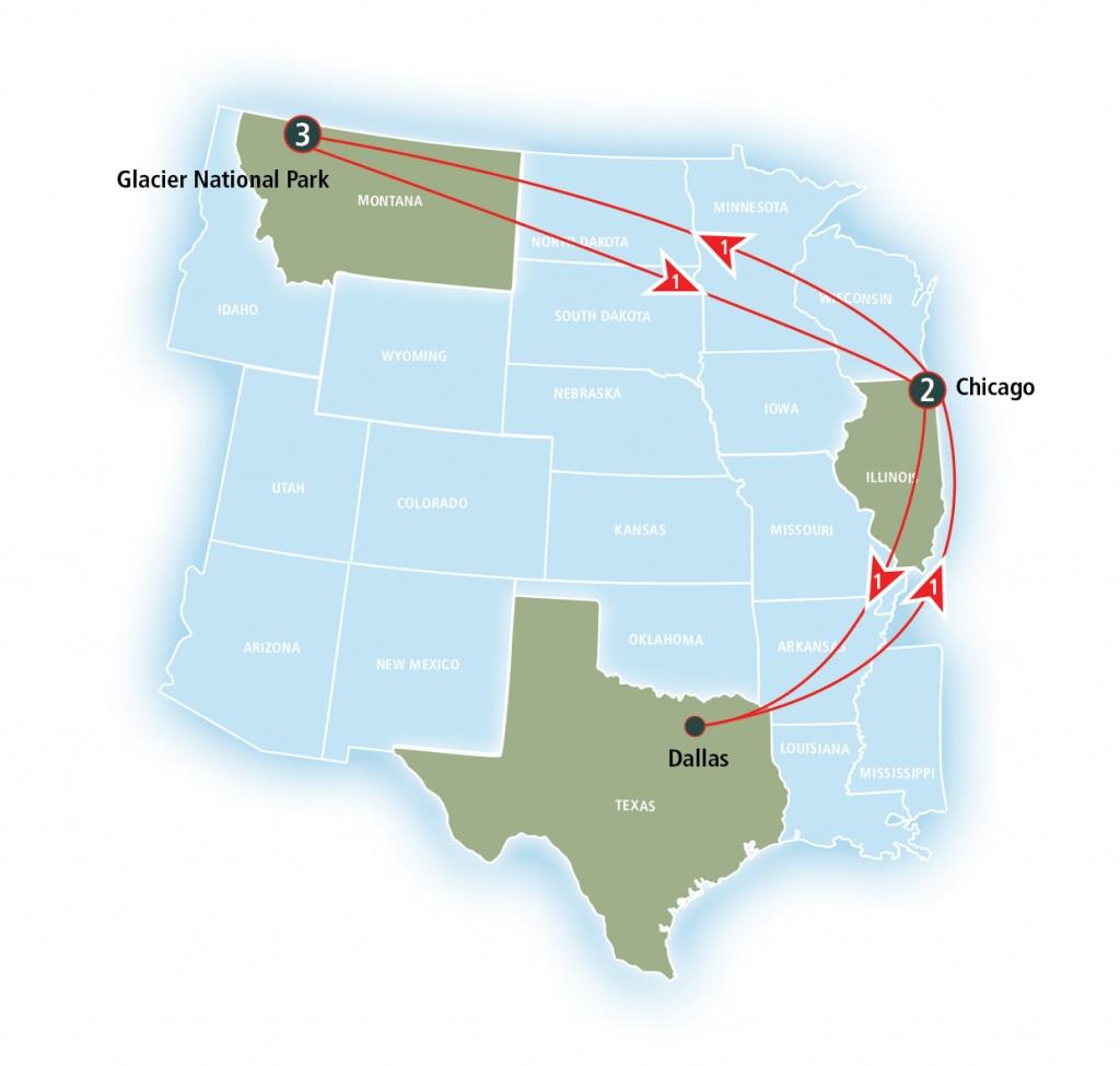 Texas Eagle   Amtrak Vacations - Amtrak Texas Eagle Route Map