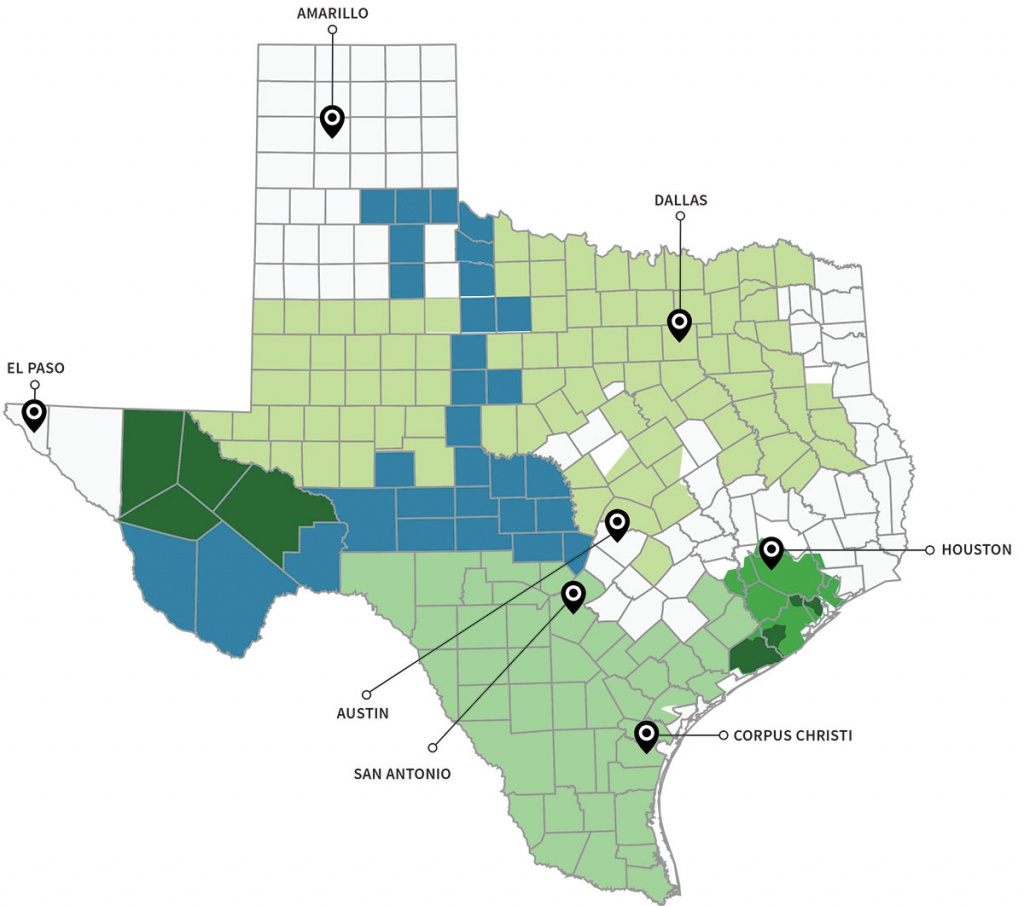 Texas Energy Utility Providers (Tdus) - Find Your Tdu | Quick - Electric Transmission Lines Map Texas