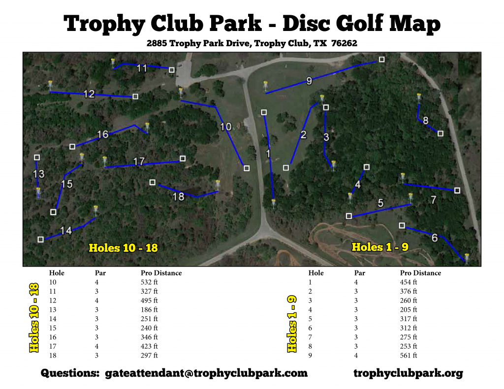 Texas Golf Course Map And Travel Information | Download Free Texas - Trophy Club Texas Map