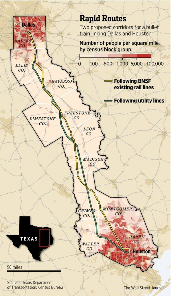 Texas Group Races For High-Speed Rail | Econ | High Speed Rail, High - Texas High Speed Rail Map