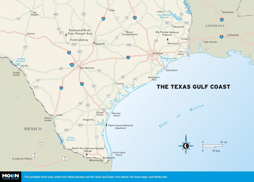 Texas Gulf Coast Map With Cities 4 For Map Of Gulf Coast Cities - Map Of Texas Coastline Cities