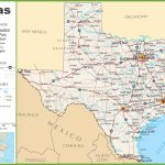 Texas Highway Map – Map Of Texas Roads And Cities